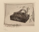 Jasper Johns (b. 1930) Light Bulb, from 1st etchings, 2nd state, 1967-69 Intaglio on Auvergne a la Main paper 3-3