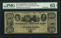 Obsoletes By State:New Hampshire, Portsmouth, NH- Piscataqua Exchange Bank $20 18__ G12 Remainder. ...