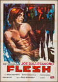 "Movie Posters:Sexploitation, Flesh (PEA, 1978). Italian 2 - Fogli (39.25"" X 55"").Sexploitation.. ..."