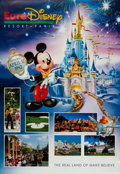 Animation Art:Poster, Euro Disney Resort Pre-Opening Poster (Walt Disney, 1992). ...