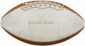 Football Collectibles:Balls, 1976 Chicago Bears Multi-Signed Football (30+ Signatures).. ...