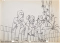 Animation Art:Production Drawing, Alex Toth TV Commercial Test Animatic Drawings Set of 6 (1981). ... (Total: 6 Items)