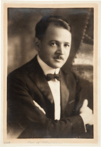 Carl Stalling's Personal Photo Scrapbook and Papers Collection (c. 1920-30s)