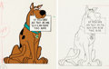 Animation Art:Concept Art, Kings Island H-B Character Sign Cels, Drawings, and Letter Group (Hanna-Barbera, 1970). ... (Total: 6 Items)