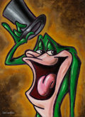"Animation Art:Production Drawing, ""Michigan J. Frog"" Painting by Dick Duerrstein (Warner Brothers,2005). ..."