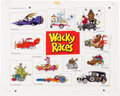 Animation Art:Color Model, Wacky Races Color Model Cel (Hanna-Barbera, 1975). ... (Total: 2 Items)