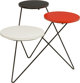 A Bauer Enameled Metal and Veneer Plant Stand 18-1/2 h x 19 w x 20 d inches (47.0 x 48.3 x 50.8 cm)
