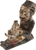 Antiques:Toys, Mechanical Bank: Paddy & the Pig....