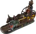"""Antiques:Toys, Mechanical Bank: """"Bad Accident.""""..."""