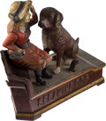 Antiques:Toys, Mechanical Bank: Speaking Dog....