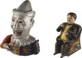 Antiques:Toys, Mechanical Banks (Lot of Two): Humpty Dumpty and Tammany Hall....(Total: 2 Items)