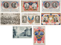 Political:Small Paper (1896-present), Group of Eight 1908 Campaign Postcards Including Two Real Photo Views....
