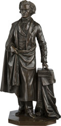 Political:3D & Other Display (pre-1896), John C. Calhoun: Standing Bronze Statue by Boyer....