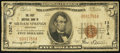 National Bank Notes:Arkansas, Siloam Springs, AR - $5 1929 Ty. 1 The First NB Ch. # 13274. ...