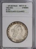 Early Half Dollars: , 1802 50C --Cleaned, Scratched--ANACS. VF Details, Net F12. O-101.PCGS Population: (6/94). NGC Census: (7/3619). Mintage: 2...