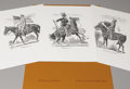 Texas:Early Texas Art - Drawings & Prints, JOSE CISNEROS (b. 1910). Untitled Portfolio with Three Prints byJose Cisneros. Etching on paper. 20 x 15 inches (50.8 x 38....(Total: 3 Items)