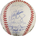 Baseball Collectibles:Balls, 2000 New York Yankees Team Signed Baseball.. ...