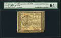 Colonial Notes:Continental Congress Issues, Continental Currency September 26, 1778 $40 PMG Choice Uncirculated64 EPQ.. ...