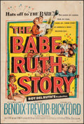 "Movie Posters:Sports, The Babe Ruth Story (Allied Artists, 1948). One Sheet (27"" X 40.25""). Sports.. ..."