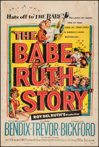 """The Babe Ruth Story (Allied Artists, 1948). One Sheet (27"""" X 40.25""""). Sports"""