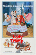 """Movie Posters:Animation, Lady and the Tramp & Other Lot (Buena Vista, R-1980). One Sheets (2) (27"""" X 41"""", 23"""" X 35""""). Animation.. ... (Total: 2 Items)"""