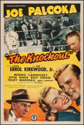 "Movie Posters:Sports, Joe Palooka in The Knockout (Monogram, 1947). One Sheet (27.5"" X 40.75""). Sports.. ..."