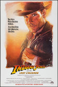 """Movie Posters:Action, Indiana Jones and the Last Crusade (Paramount, 1989). One Sheet(27"""" X 40.5"""") SS Advance, Drew Struzan Artwork. Action.. ..."""