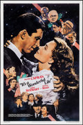 "Movie Posters:Fantasy, It's a Wonderful Life (Kilian, R-1990). One Sheet (27"" X 40"") SS. Fantasy.. ..."
