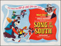 "Movie Posters:Animation, Song of the South (Walt Disney, R-1960s). British Quad (30"" X 40"").Animation.. ..."