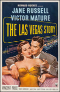 "Movie Posters:Drama, The Las Vegas Story (RKO, 1952). One Sheet (26.25"" X 40.75"").Drama.. ..."