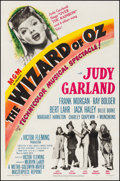 "Movie Posters:Fantasy, The Wizard of Oz (MGM, R-1949). One Sheet (27.25"" X 41.25"").Fantasy.. ..."