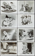 """Movie Posters:Animation, Pinocchio (RKO/Buena Vista, R-1953/R-1962). Photos (49) (Approx. 8"""" X 10""""). Animation.. ... (Total: 49 Items)"""