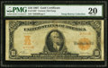 Large Size:Gold Certificates, Fr. 1168* $10 1907 Gold Certificate PMG Very Fine 20.. ...