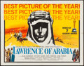 "Movie Posters:Academy Award Winners, Lawrence of Arabia (Columbia, 1962). Half Sheet (22"" X 28"") Academy Awards Style D. War.. ..."