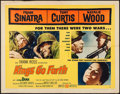 "Movie Posters:War, Kings Go Forth (United Artists, 1958). Half Sheet (22"" X 28"") StyleA, Insert (14"" X 36""), Title Card (11"" X 14""), & Photos ...(Total: 10 Items)"