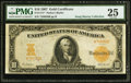 Large Size:Gold Certificates, Fr. 1171* $10 1907 Gold Certificate PMG Very Fine 25.. ...