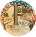 Political:Pinback Buttons (1896-present), William McKinley: Classic Patriotism and Prosperity Button. ...