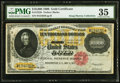Large Size:Gold Certificates, Fr. 1225h $10,000 1900 Gold Certificate PMG Choice Very Fine 35.....