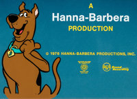 The Scooby-Doo Show Title/Ending Credits Cel Group of 14 (Hanna-Barbera, 1976). ... (Total: 15 Items)