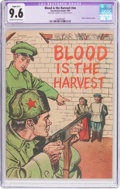 Golden Age (1938-1955):War, Blood Is the Harvest #nn (Catechetical Guild, 1950) CGC ApparentNM+ 9.6 Slight (B-1) Off-white to white pages....