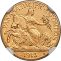 Commemorative Gold, 1915-S $2 1/2 Panama-Pacific Quarter Eagle MS65 NGC....