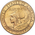 Commemorative Gold, 1915-S $50 Panama-Pacific 50 Dollar Round MS64 NGC....