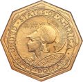 Commemorative Gold, 1915-S $50 Panama-Pacific 50 Dollar Octagonal MS62 NGC....
