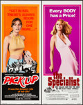 "Movie Posters:Exploitation, Pick-Up & Other Lot (Crown International, 1975). Inserts (2)(14"" X 36""). Exploitation.. ... (Total: 2 Items)"