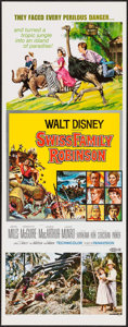 "Movie Posters:Adventure, Swiss Family Robinson & Others Lot (Buena Vista, R-1975).Inserts (3) (14"" X 36""). Adventure.. ... (Total: 3 Items)"