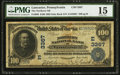 National Bank Notes:Pennsylvania, Lancaster, PA - $100 1902 Date Back Fr. 689 The Northern NB Ch. #(E)3367. ...