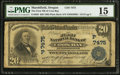 National Bank Notes:Oregon, Marshfield, OR - $20 1902 Plain Back Fr. 650 The First NB of Coos Bay Ch. # (P)7475. ...