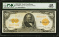 Large Size:Gold Certificates, Fr. 1200 $50 1922 Gold Certificate PMG Choice Extremely Fine 45.. ...