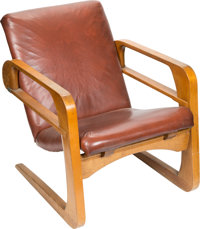 Kem Weber Airline Chair from the Walt Disney Studios (c. 1934-35)