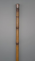 Other, A Spectacles Walking Stick, late 19th century. 37-1/2 inches (95.3 cm). PROPERTY FROM THE COLLECTION OF MR. KENNETH W. DAV...